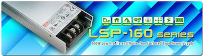 MEAN WELL LSP-160 series power supply